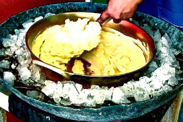 helado de paila ecuatoriano