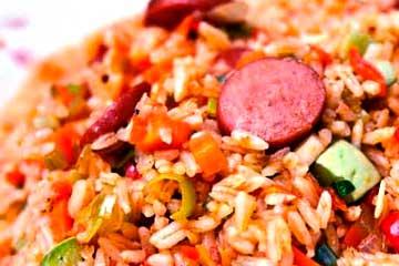 arroz relleno ecuatoriano