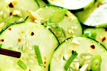ensalada de pepino ecuatoriana