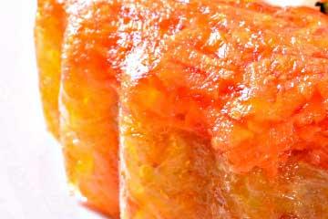 gelatina de zanahoria casera