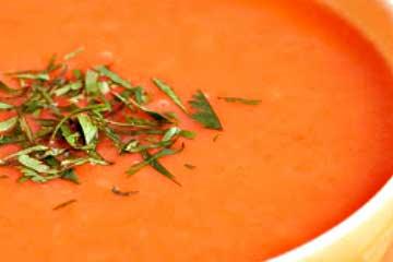 crema de zanahoria sin leche