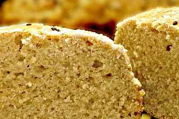 pan de harina de quinoa