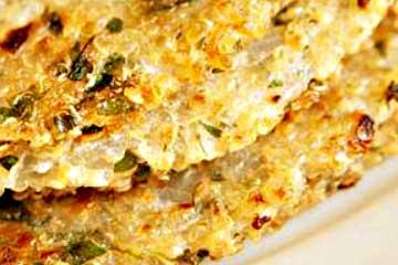 tortilla de quinoa con huevos
