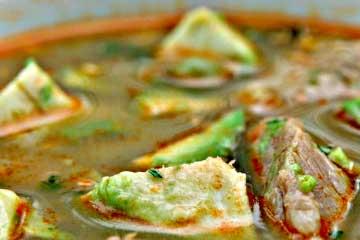 sopa de quinua ecuatoriana