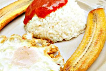 arroz a lo cubano