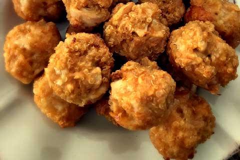 albóndigas de quinoa con carne