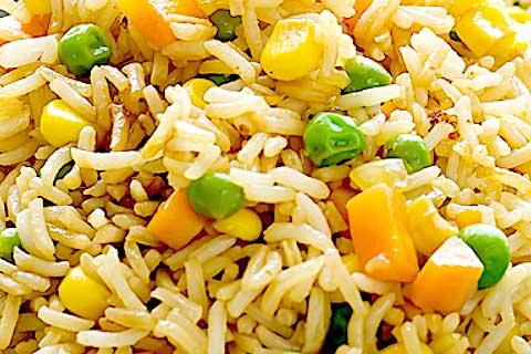 arroz chino vegano