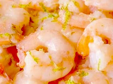 camarones a la crema hondureños