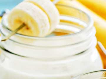 sorbete de mango y plátano