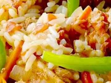 arroz con cerdo