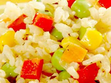 arroz a la jardinera hondureño